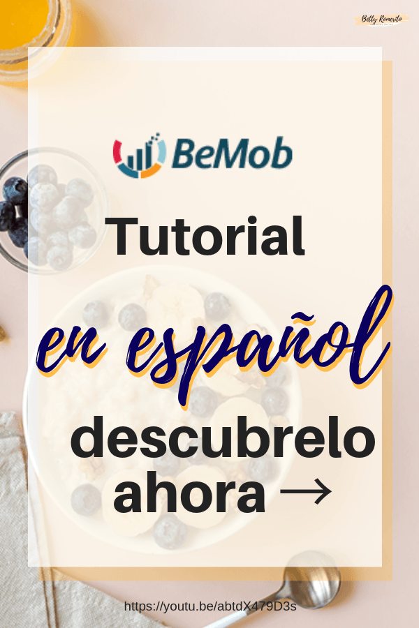 tutorial Bemob en Español